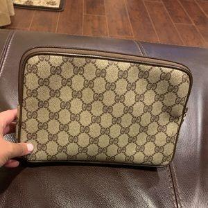 Gucci Vintage Clutch/Makeup bag